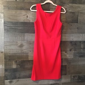 Betsey Johnson fitted red dress size 6